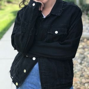 PacSun distressed jean jacket